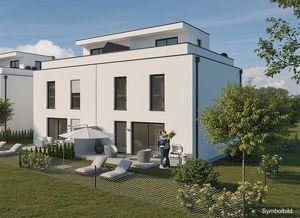 VOR BAUBEGINN: Sonnige Dachterrasse mit schönem Garten (Haus 4 DT)