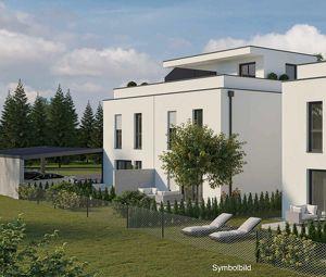 VOR BAUBEGINN: Günstige Doppelhaushälfte mit Garten und Dachterrasse in St. Pölten - Wagram (Haus 2 DT)