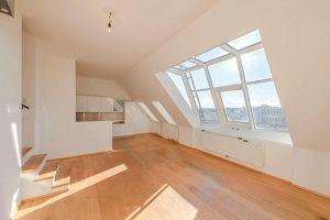 praktisch aufgeteilte 3-Zimmer-Wohnung mit 30m² Dachterrasse inkl. Weitblick!