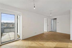 ++ NEU in HERNALS ++ EXKLUSIVE ZWEI Zimmer Dachgeschosswohnung mit ZWEI TERRASSEN