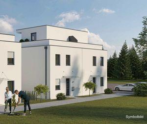 VOR BAUBEGINN: Leistbare Doppelhaushälfte mit Dachterrasse und Gartenanteil (Haus 1 DT)