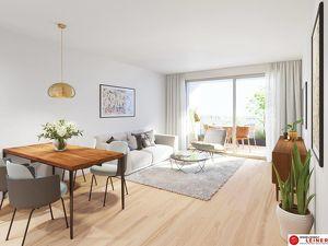 Eine Wohnung auf die alle abfahren! Eigentumswohnung mit 17,88m² sonniger Terrasse - ohne Provision - 3 Zimmer