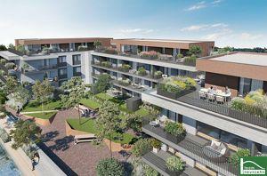 4 Zimmer + zwei Balkone!! TOPPROJEKT in der Achau – Absolute Grünlage! ALLES WAS DAS HERZ BEGEHRT! BEL Air Garden Suites! WOHNTRAUM!!