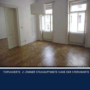 18. Dittesgasse TOPSANIERTE 2-ZIMMER STILHAUPTMIETE NAHE DER STERNWARTE