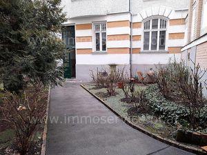 Ruhige Stilaltbauwohnung - Erstbezug - begrünter Innenhof!