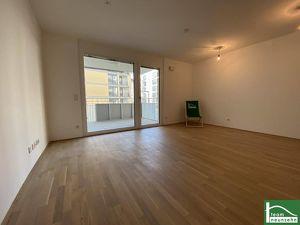 FRÜHLINGSAKTION: JETZT PROVISIONSFREI EINZIEHEN! Herrliche 2-Zimmer-Erstbezugs-Wohnung mit Balkon und hochwertiger Einbauküche
