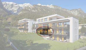 Kranebitten: 2-Zimmer Neubau-Wohnung mit Balkon (BW03)