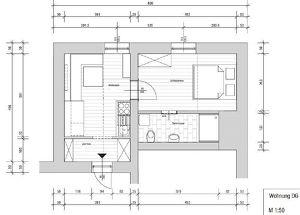 Pestalozzistraße 63 -Sanierte Kleinwohnung ab Juni zu vermieten!