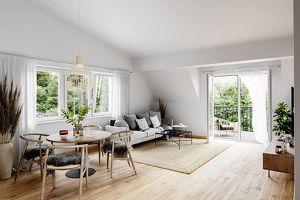 Raumwunder auf 54m² - 2-Zimmer Wohnung