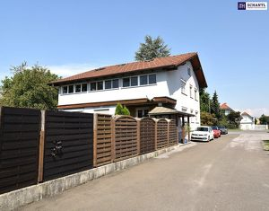 FAMILIEN-IDYLLE! Mit 554 m² Grundstück + 312 m² Nutzfläche (inkl. Keller) auf 3 Etagen! Mit riesigem Garten - INKLUSIVE Pool!