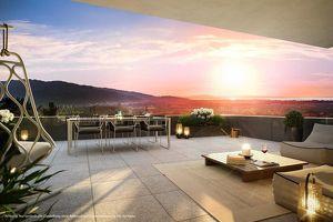 Exklusive 4-Zimmer-Wohnung mit traumhaftem Blick auf das Rheintal bis zum Bodensee