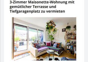 3-Zimmer Maisonnette Wohnung in Rif