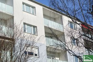 Beim Stadioncenter-Coole 2-Zimmer-Wohnung mit Terrasse, Top Infrastruktur. Grünruhelage!