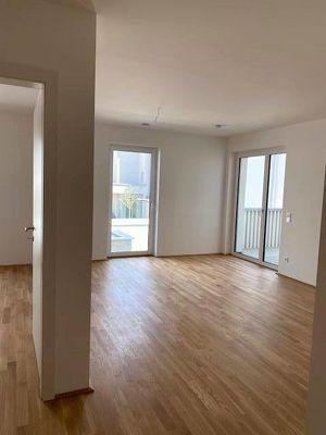 2-Zimmer-Wohnung mit großem Balkon - Erstbezug