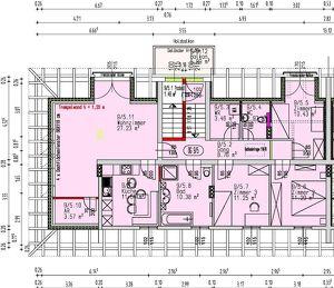 Ruhiges Dachgeschoß - teilausgebaut für Bauherren - provisionsfrei