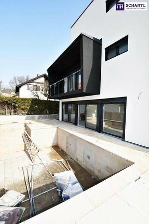 Hier werden Träume wahr! WOW-Villa mit Pool + Grüne Ruhelage + Geschmackvolle TOP Ausstattung + Terrassen + Großer Keller! Jetzt zugreifen!