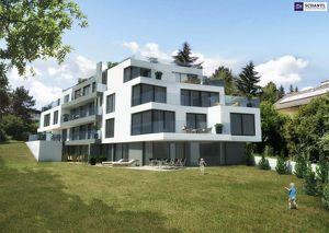 Wohntraum im Grünen: Perfekt aufgeteilte 3-Zimmer Gartenwohnung mit mit traumhafter Glasfront und Blick auf den Dehnepark!