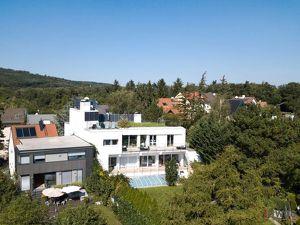 EXQUISITE FAMILIENVILLA - Traumhaus mit Swimmingpool am Rande zum Lainzer Tiergarten - 360° Rundum-Aussicht