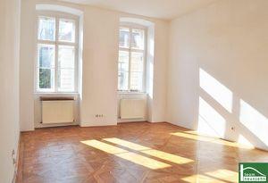 Mit Blick auf den Schönbornpark + Stilvolles Wohnen mitten im Achten + gelungener Grundriss!