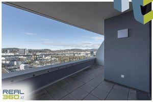 LENAUTERRASSEN - ERSTBEZUG - Moderne 2-Zimmer-Wohnung mit riesigem Balkon in der Lenauterrassen zu vermieten!! (GRATIS UMZUGSMONAT)