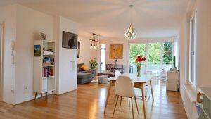 Wie ein Haus im Haus: Maisonette Penthouse Wohnung in bester Stadtlage - Nonntal