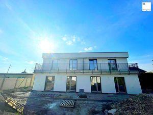 """Schlüsselfertig: 5-Zimmer Doppelhaushälfte in Grünruhelage - """"Leopoldsdorf im Marchfelde"""" - Terrasse im OG und Garten"""