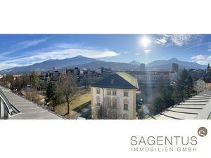 Sensationelles Angebot: Dachterrassentraum mit über 137m2 Wohnfläche im Zentrum von Innsbruck zu kaufen