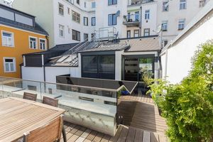 Modern gestaltetes Townhouse mit 55m² Terrasse - Hoflage