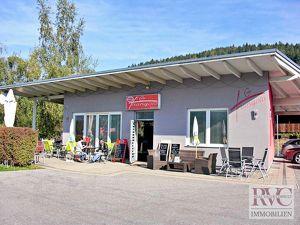 5min. zum Faaker See - Komplett eingerichtetes Bistro mit Terrasse, Garten und Parkplätze in Toplage