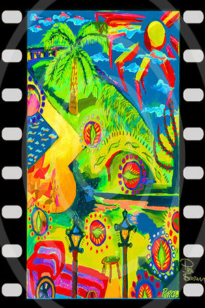 Piere Brosnan Kunstdruck 45x30 cm. Souvenir. Geschenk. Andenken. Sammlerstück. BRANDNEU!