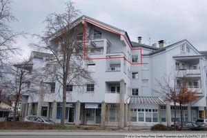 Maisonettenwohnung über den Dächern von Reutte