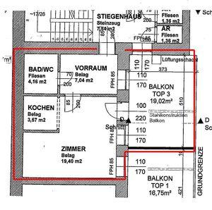 Mietwohnung mit ++ großer Terrasse und Carport ++ inmitten von Knittelfeld
