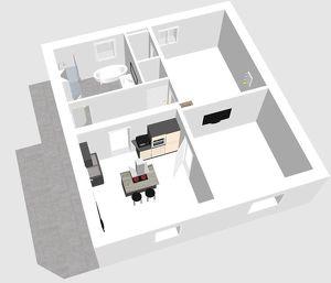 Smarte 65m² Wohnung mit Terrasse und eigenen Eingang