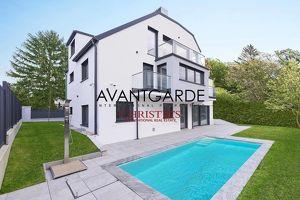 Modernes Wohnhaus am Schafberg