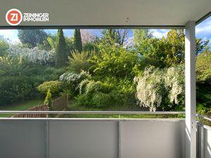 PROVISIONSFREI - Sonnige Wohnung im Grünen mit traumhafter Loggia und Garage