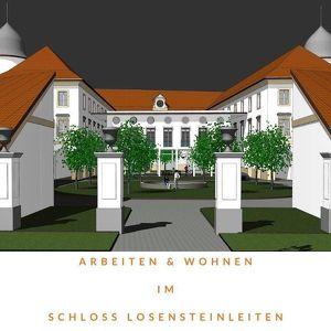 Arbeiten und Wohnen unter einem Dach im Schloss Losensteinleiten