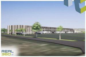 LOGISTIKHALLE bestehend aus Halle und Büroflächen in Wels zu vermieten!
