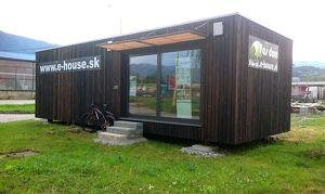 Wir bieten 2-Zimmer-Einfamilienhaus