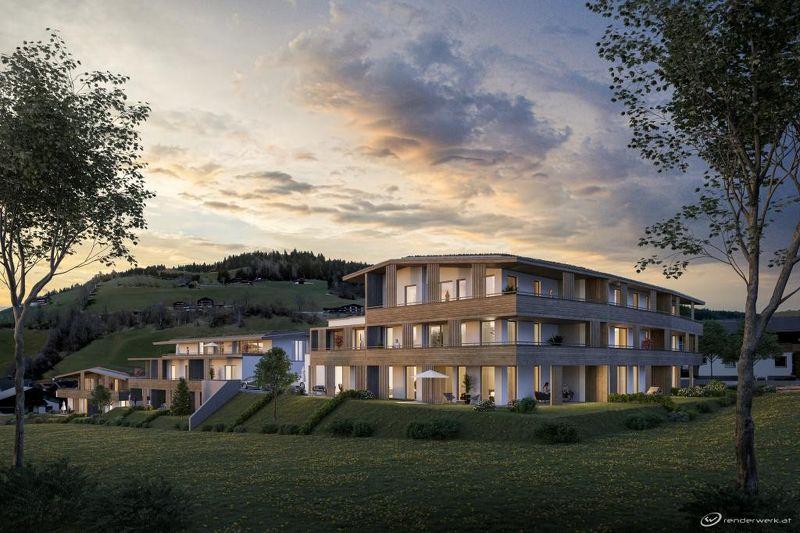 PRESTIGE PENTHOUSE OPENSKY mit exklusivem Panoramablick, mitten in den Kitzbüheler Alpen