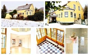 Randlage Sollenau - Villa mit Keller, Garage, Wintergarten und Gartenhaus