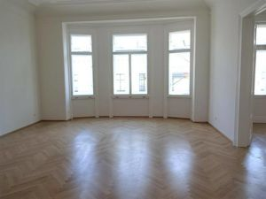 Wunderschöner Erstbezug gegenüber Belvedere, 4-Zimmer Altbauwohnung, 139m², Balkon, 2 Bäder, unbefristet