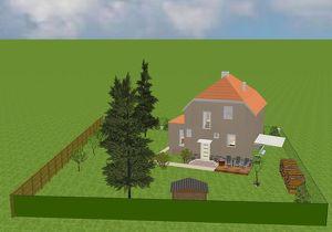 Sonniges Haus mitten in Kurort, in Ruhelage