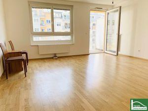 TOP INFRASTRUKTUR! Charmanter 64 m2 Neubau mit Balkon, 3 Zimmer, Komplettküche! NÄHE U3-SCHWEGLERSTRAßE!