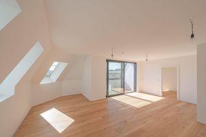 ++Projekt TG 17++ Premium 3-Zimmer Dachgeschosswohnung mit sensationelle Terrasse! alles auf einer Ebene!