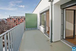 Top 2 Zimmerwohnung mit Balkon in Floridsdorf!