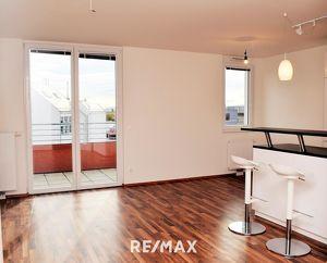 Helle 3 Zimmer DG Wohnung mit großer Terrasse und sehr guter Infrastruktur!