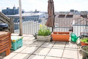 Nähe 2. Bezirk. DG-Maisonette mit sonniger Terrasse.