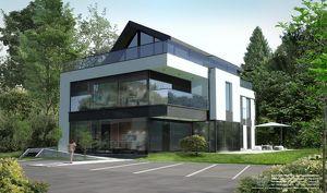 3 Zimmer Dachgeschoss Wohnung mit großer Terrasse und Fernblick in Anif