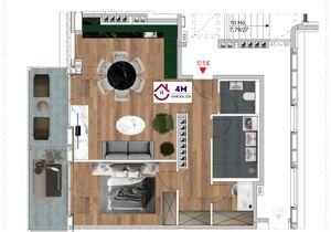 Sonnendurchfluetete DG Wohnung+Erstbezug+Dachgeschoss+Top Ausstattung+Ruhelage