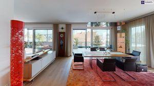 Luxus pur - traumhaft schönes Penthouse in 8010 Graz - Whirlpool - Sauna - Weber Grill - Terrasse mit Bepflanzung und Bewässerungssystem